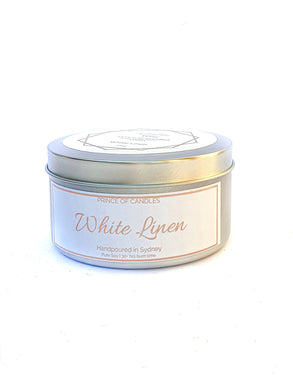 Scent Sample White Linen Scented Candle - Prince of Candles