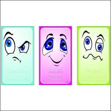 Emotion Cards - www.therapeutictools.co.za