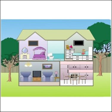 The House where the cat lives - www.therapeutictools.co.za