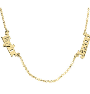 Linked Name Necklace
