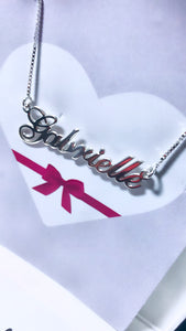 Simplicity Name Necklace