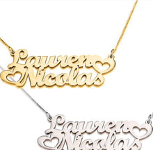 Joined Name Necklace