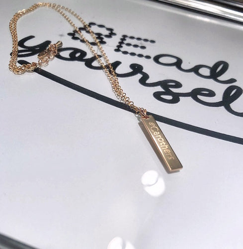 Name Plate Necklace (Small Size)