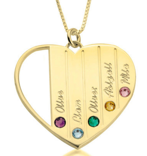 Birthstone Heart