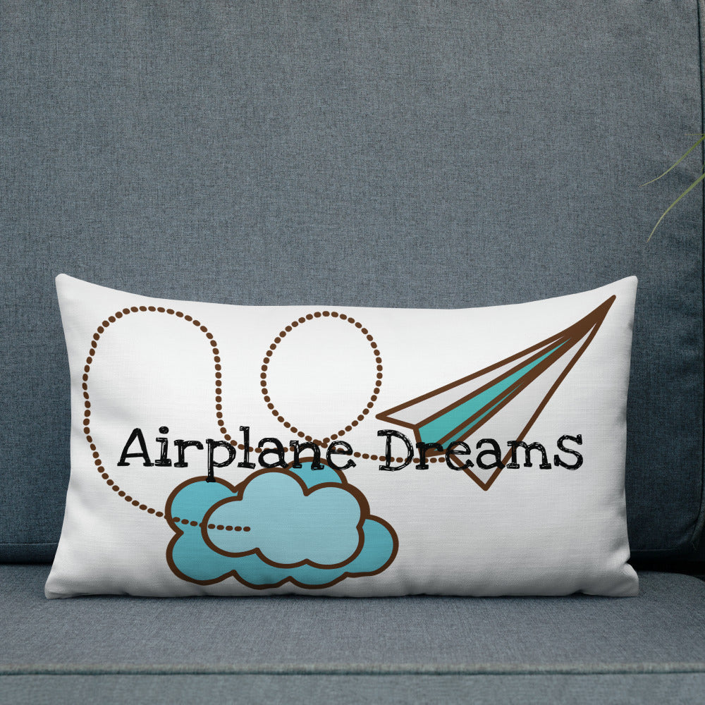 Airplane Dreams Pillow
