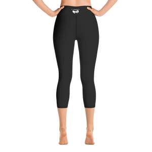 DreamPrintLife Too Busy Leading Yoga Capri Leggings