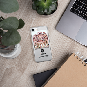 iPhone Case- Dream Purposefully - Morocco Bubble Gum Castle