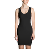 DreamPrint Body Con Black Dress