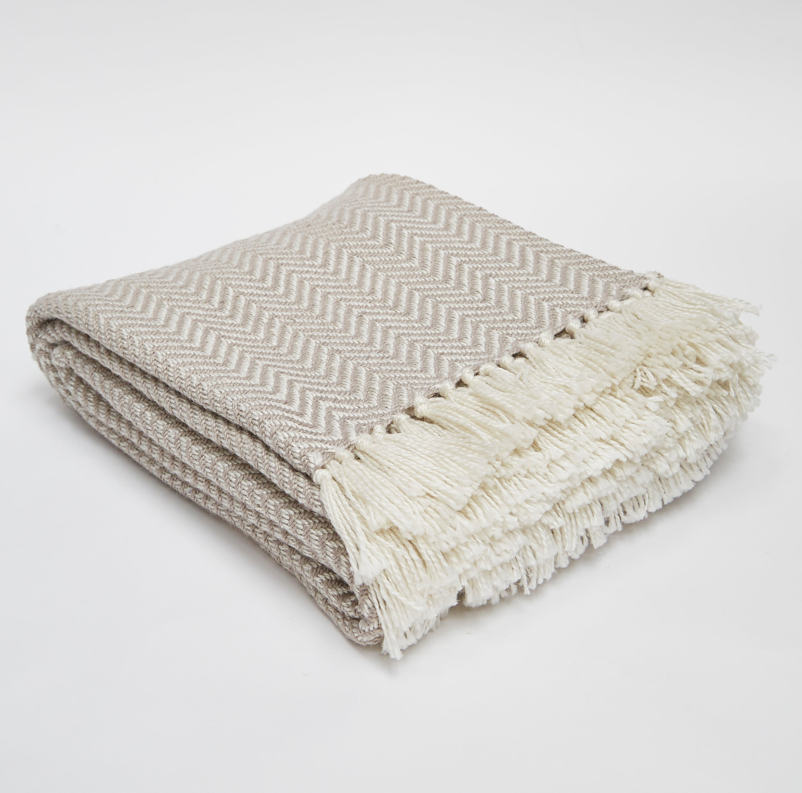 Weaver Green Throw/Blanket - Diamond Chinchilla