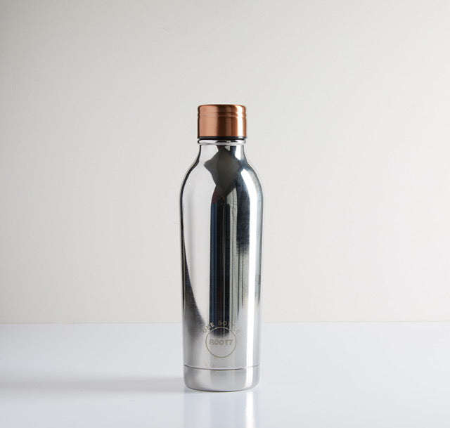 Root17 Water Bottles - Silver