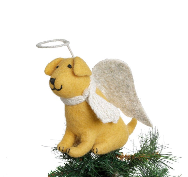 Golden Labrador Tree Topper