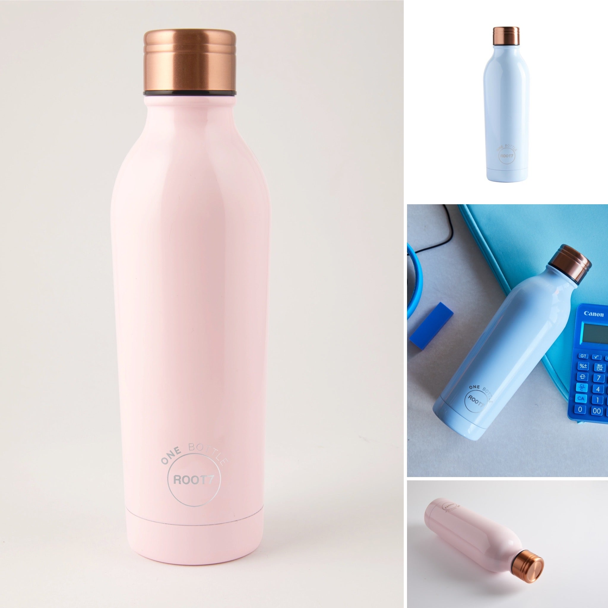 Root17 Water Bottles - Pink