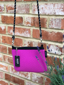 Magenta Neoprene Bag