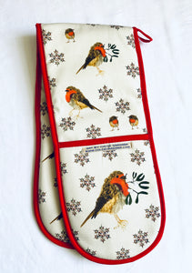 Mr Robin oven gloves.