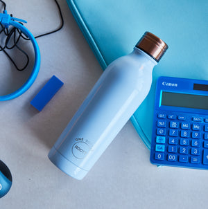 Root17 Water Bottles - Blue