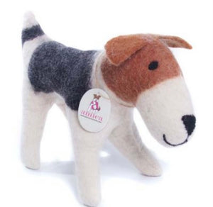 Freddie the fox terrier.