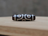 six eyes dzi bead