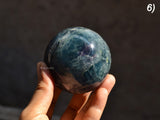 natural fluorite sphere