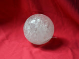 73mm clear quartz sphere
