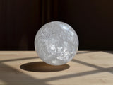 natural white quartz stone ball