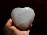 natural veins agate stone heart