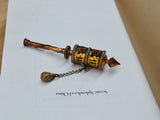 Tibet vintage prayer wheel