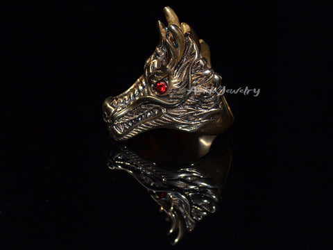 mens dragon ring