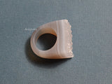 solid druse ring