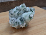 natural green quartz specimen