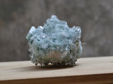 collectible green druse geode gemstone