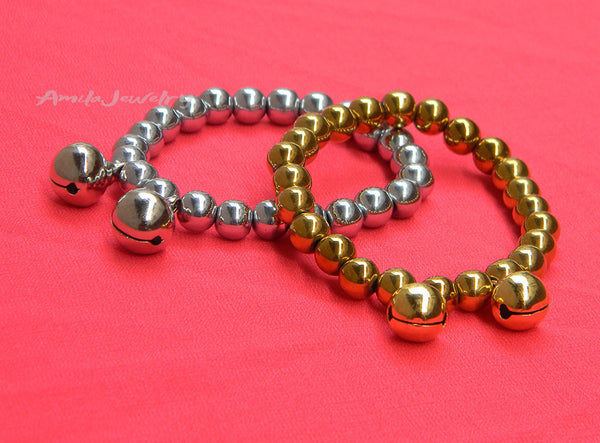 Christmas jingle bells bracelet