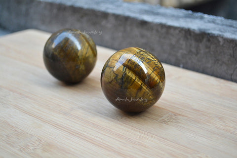 natural tiger eye sphere