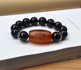 Tibet prayer mala beaded bracelet
