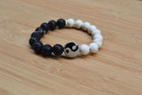 mens meditation beaded bracelet
