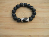 mens big bead bracelet