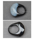 black and white ring Zen jewelry