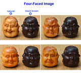 four faced buddha necklace
