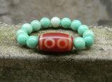 five eyes dzi bead bracelet