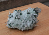 raw green quartz specimen