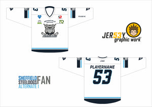 STEELDOGS 2020/21 HERITAGE FAN REPLICA CHILDREN'S SIZING