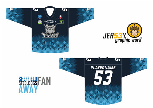 STEELDOGS 2020/21 DARK FAN REPLICA ADULT SIZING