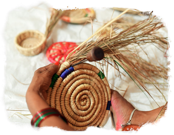 Indian Art House Buy Handcrafted Grass Baskets And Handwoven Rugs Online