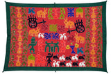 Okhai Black Village Themed Wall Hanging