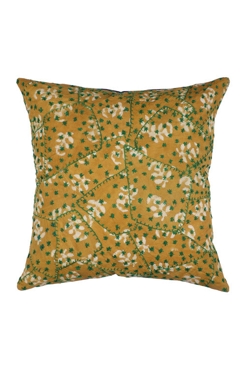 Lal10 Handicrafted 100% Cotton Patchwork Cushion Cover