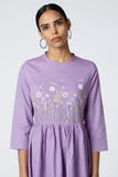 Okhai 'Wildflowers' Embroidered Cotton Dress