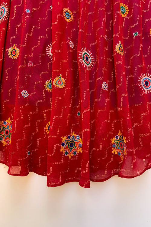 Shrujan Ahir Embroidery Skirt-26