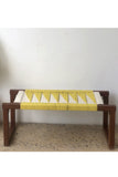 Sirohi's Yellow Colonel wooden bench (modern style detachable)