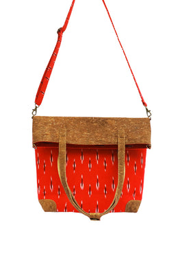 Red-Ikat-tote-cum-sling