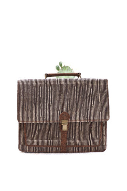 Brown-stripes-Laptop-bag