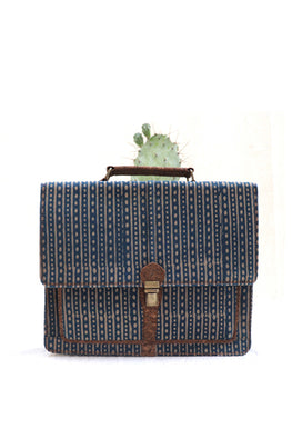 Mult-utility-Rustic-Dabu-vegan-leather--laptop-bag